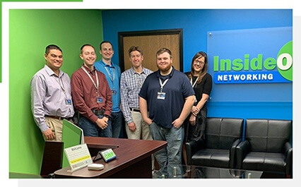 Photo of the InsideOut team