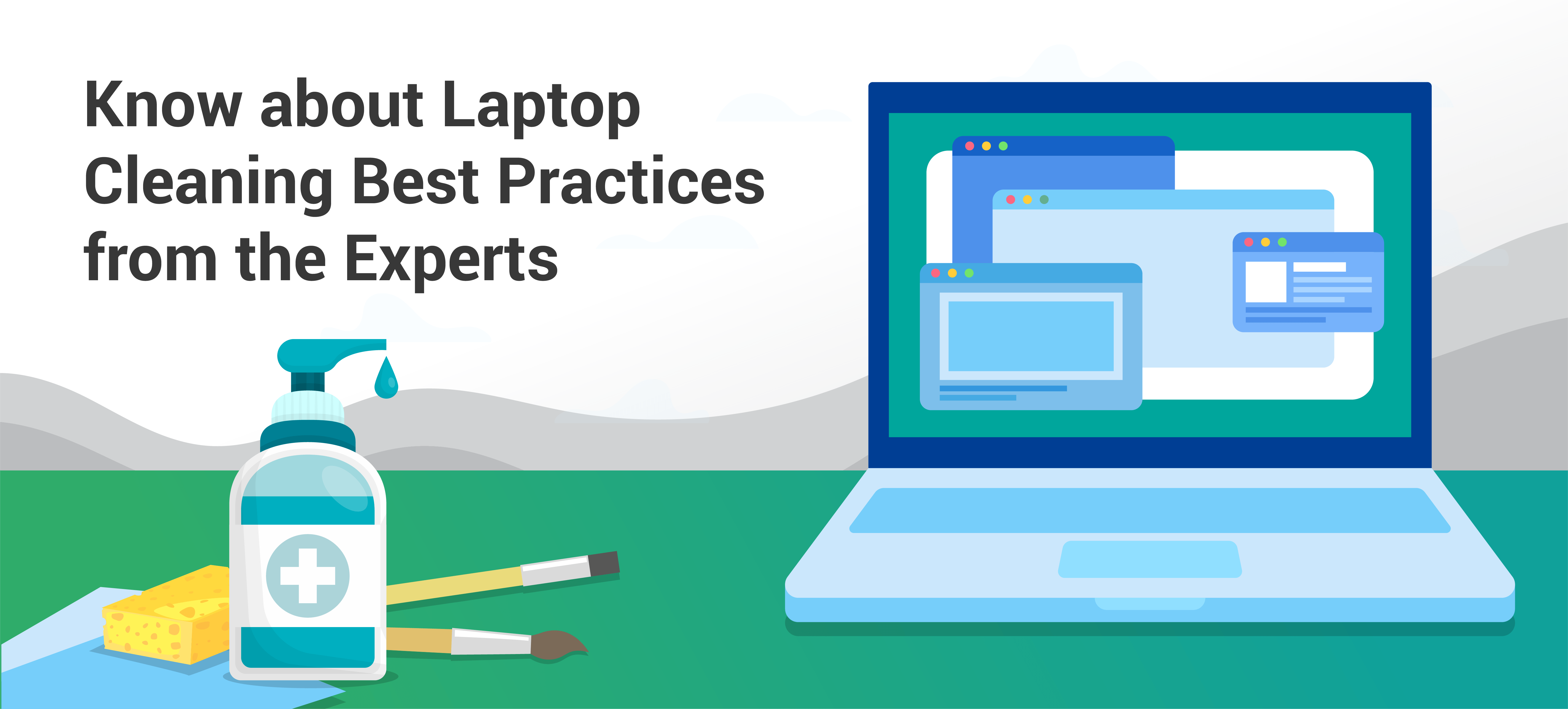 Laptop Cleaning Tips From IT Experts